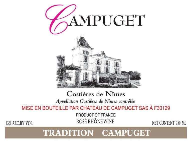 Chateau de Campuget (Costieres de Nimes) 1998
