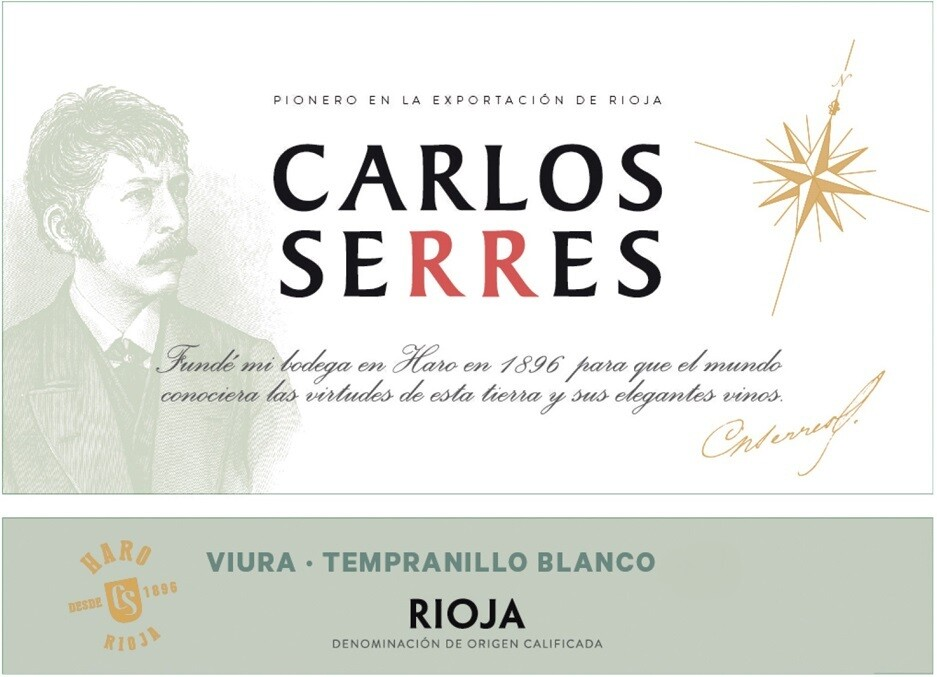 Carlos Serres Viura Blanco 2019