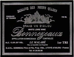 Domaine des Petits Quarts Bonnezeaux 1997