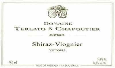 Domaine Terlato & Chapoutier Shiraz-Viognier 2013