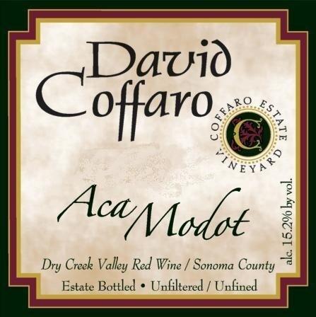 David Coffaro ACA Modot Coffaro Estate Vineyard 1997
