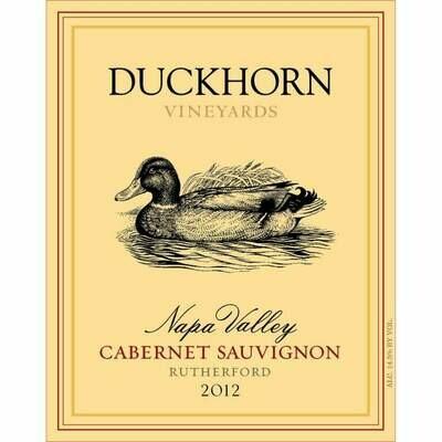 Duckhorn Rutherford Cabernet Sauvignon 2012