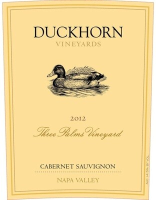 Duckhorn Three Palms Cabernet Sauvignon 2012