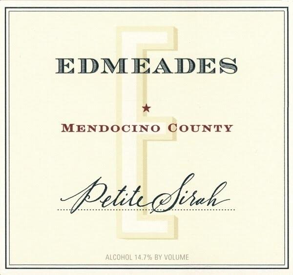 Edmeades Petite Sirah Eaglepoint Ranch 1999