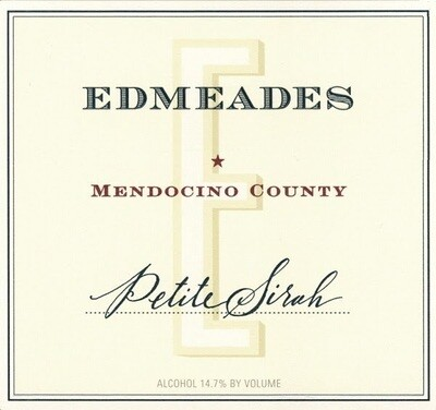 Edmeades Petite Sirah Eaglepoint Ranch 1999