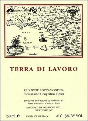 Fattoria Galardi Terra di Lavoro Roccamonfina 2002
