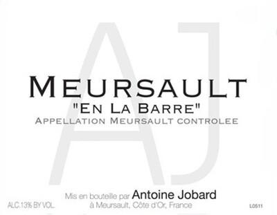 Francois & Antoine Jobard Meursault en la Barre 2011
