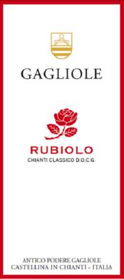 Gagliole Chianti Classico Rubiolo 2013
