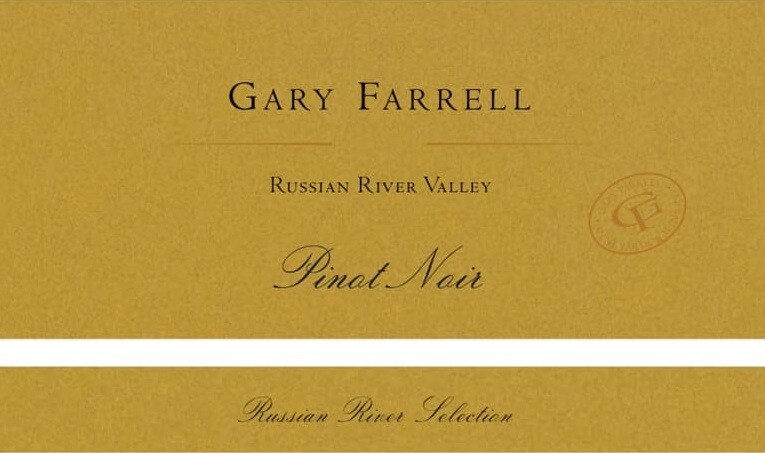 Gary Farrell Pinot Noir Russian River Selection 2012