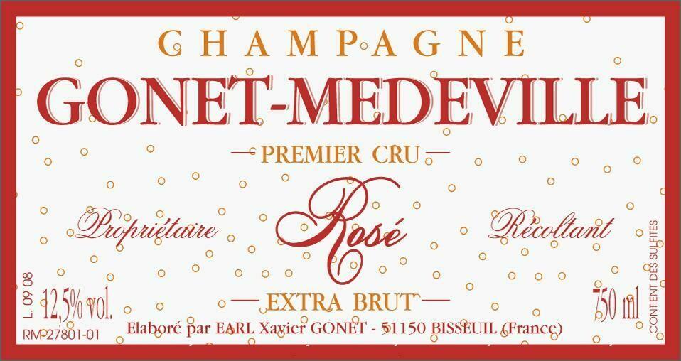Gonet Medeville Extra Brut Rose