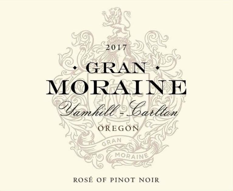 Gran Moraine Pinot Noir Rose 2017