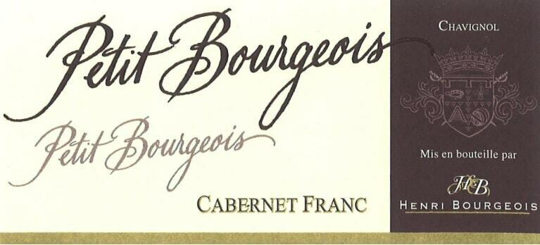 Henri Bourgeois Petit Bourgeois Cabernet Franc 2017