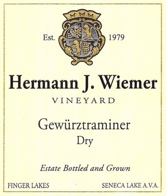 Hermann J Wiemer Dry Gewurztraminer 2013