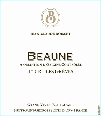 Jean-Claude Boisset Beaune Greves 2016 [95-96pts JS]