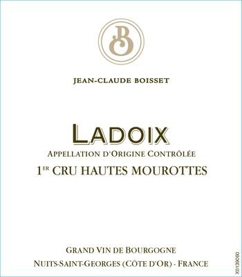 Jean-Claude Boisset Ladoix Hautes Mourottes 2016