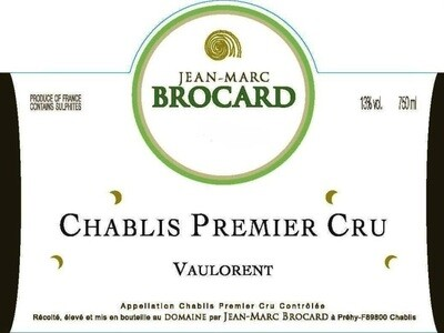Jean-Marc Brocard Chablis Vaulorent 2011