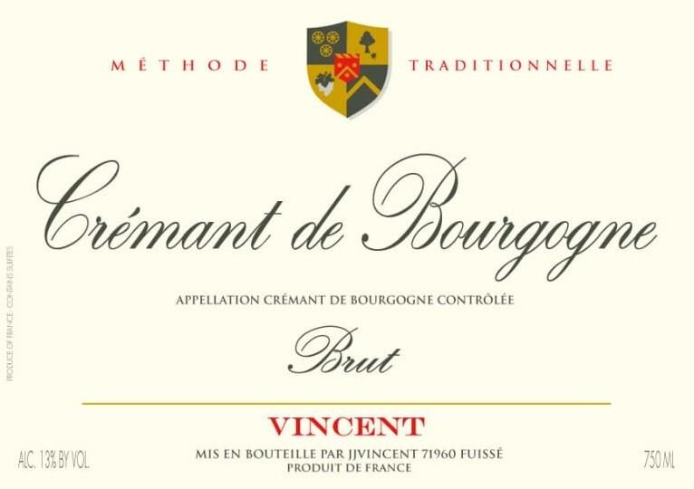 Jean-Jacques Vincent Cremant de Bourgogne Brut