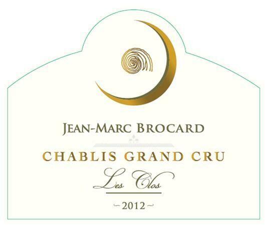 Jean-Marc Brocard Chablis les Clos 2012