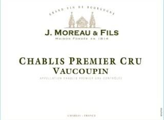 J. Moreau Chablis Vaucoupin 2016