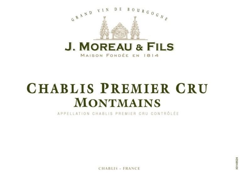 J. Moreau Chablis Montmains 2016