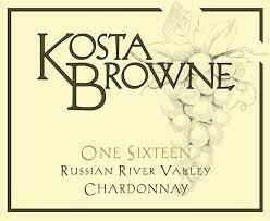 Kosta Browne Chardonnay One Sixteen 2017 [97pts JD]