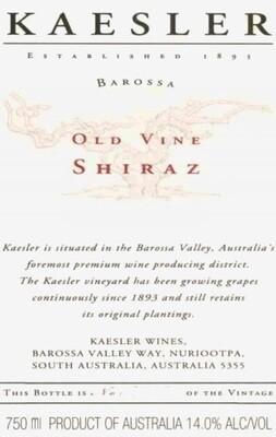 Kaesler Old Vine Shiraz 2003