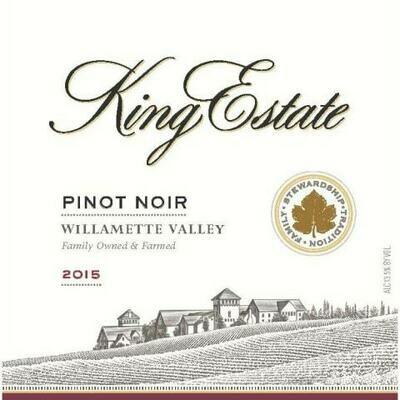 King Estate Pinot Noir 2015