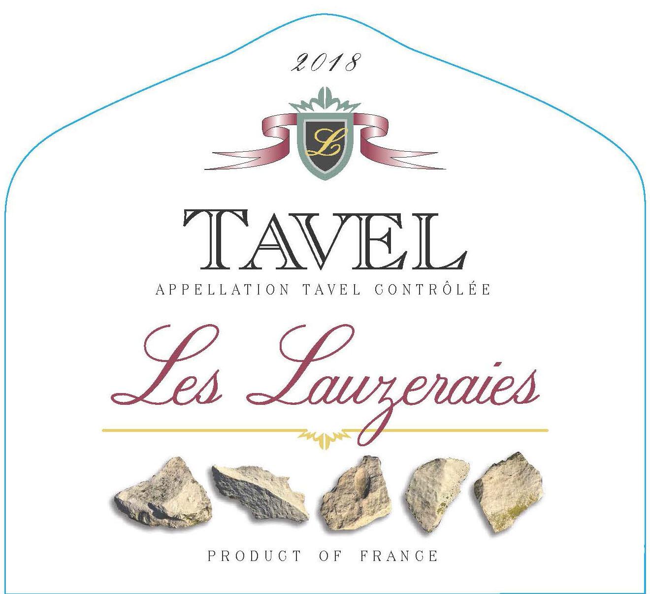 Les Lauzeraies Tavel Rose 2018