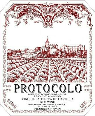 Dominio de Eguren Protocolo Vino Tinto de la Tierra de Castilla 2017