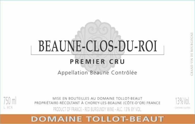 Tollot-Beaut Beaune Clos du Roi 2011