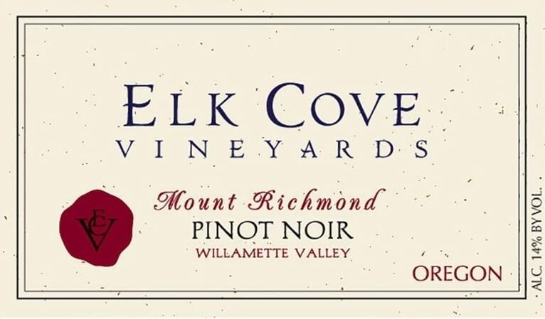 Elk Cove Pinot Noir Mount Richmond 2010