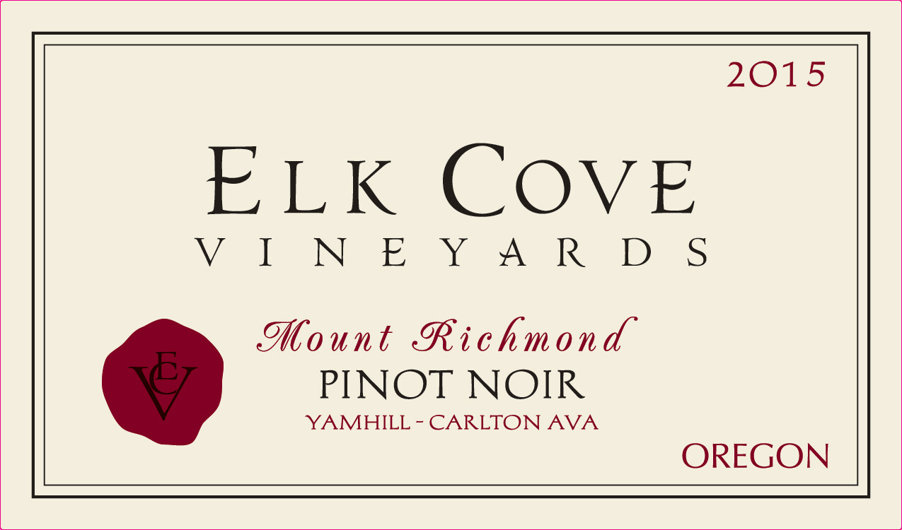 Elk Cove Pinot Noir Mount Richmond 2015
