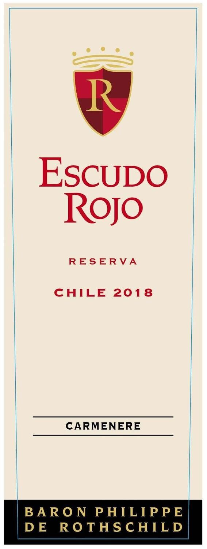Escudo Rojo Carmenere Reserva 2018