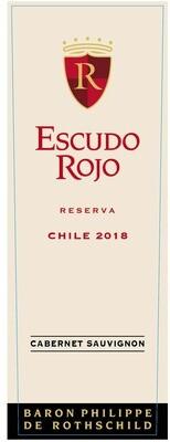 Escudo Rojo Cabernet Sauvignon Reserva 2018