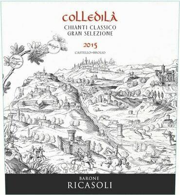 Ricasoli Chianti Classico Colledila Gran Selezione 2015 [97pts JS]