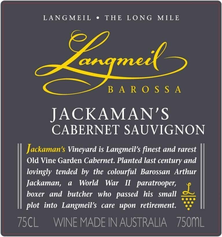 Langmeil Jackaman's Cabernet Sauvignon 2012