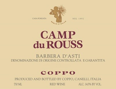 Coppo Barbera d'Asti Camp du Rouss 2008