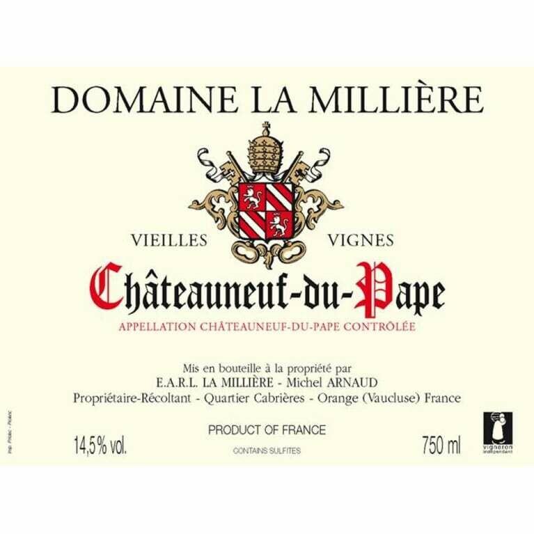 Domaine la Milliere Chateauneuf du Pape VV 2003
