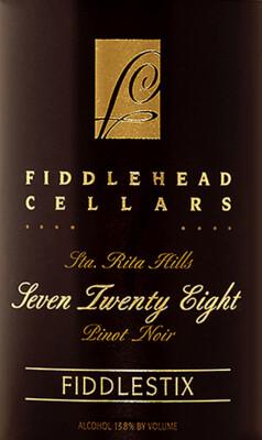 Fiddlehead Cellars 728 Pinot Noir Fiddlestix Vineyard 2005