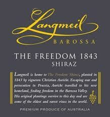 Langmeil The Freedom Shiraz 2012 [95+pts WA]