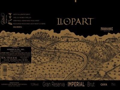 Llopart Panoramic Imperial Gran Reserva Brut Cava 2011