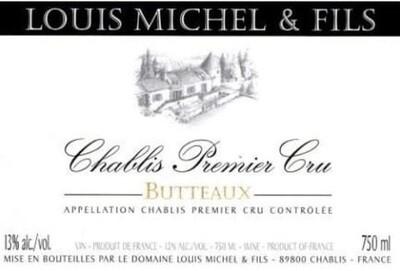 Louis Michel Chablis Butteaux 2010