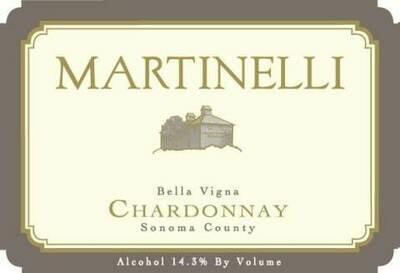 Martinelli Chardonnay Bella Vigna 2011