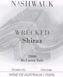 Nashwauk Wrecked Shiraz 2006