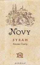 Novy Syrah Sonoma County 1998