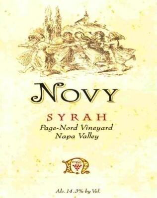 Novy Syrah Page-Nord Vineyard 1999