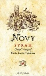 Novy Syrah Gary's Vineyard 1999