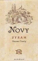 Novy Syrah Sonoma County 1999