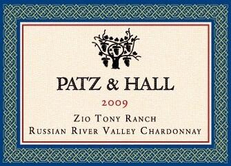 Patz & Hall Chardonnay Zio Tony Ranch 2009