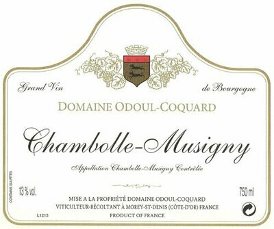 Odoul-Coquard Chambolle Musigny 2015